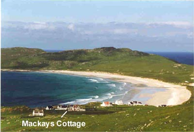Tiree self catering Balephuil beach