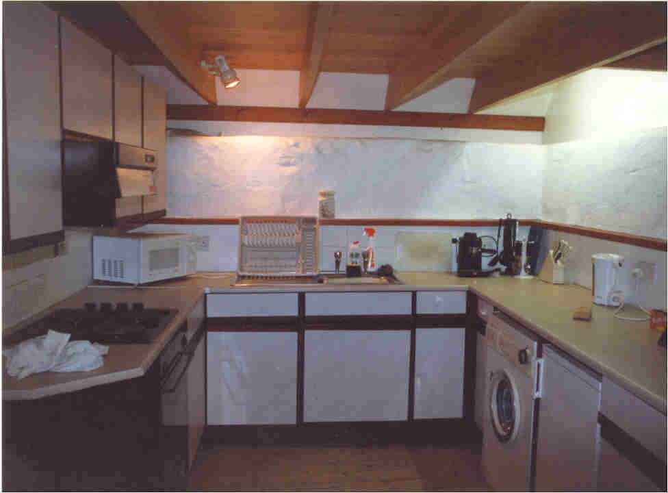 self-catering tiree kitchen